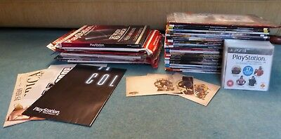 PlayStation Official Magazine Job Lot of 38 Issues, with Demo Disks, and more!
