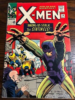 X-Men # 14 - Nov 1965 - First Appearance Of The Sentinels