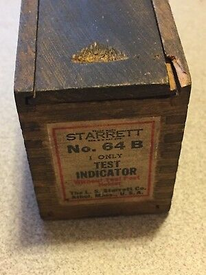 For the collector we have a Starrett No. 64 Universal Test Indicator with box