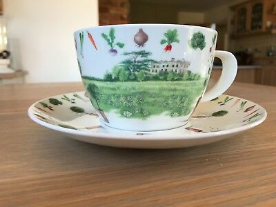 Dunoon Breakfast Cup and Saucer - Highgrove (Boxed and unused)