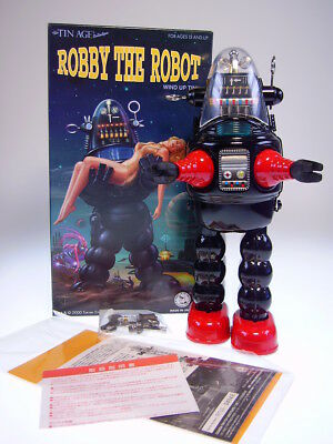 "GSR  ""ROBBY THE ROBOT""  von OSAKA TT JAPAN, 26cm, BLACK, NEU/NEW/NEUF in NEW BOX"