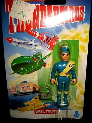 Virgil Tracy Figure ~ Matchbox Thunderbirds ~ Sealed In Package