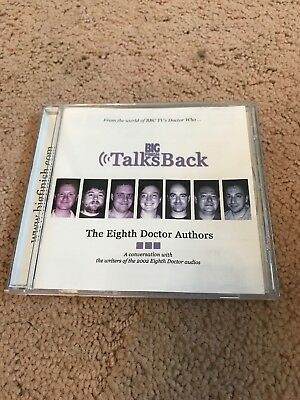 BIG FINISH TALKS BACK - The Eighth Doctor Authors