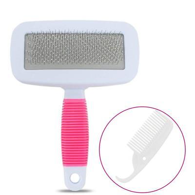 Self Cleaning Slicker Brush for Dogs and Cats,Pet Grooming Brush Easily Removes