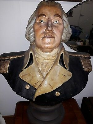 Large Vintage Lord Nelson Bust