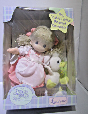 Precious Moments Baby Collection  Limited Edition Numbered Goose Girl