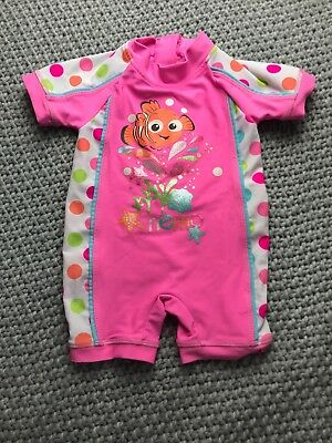 Baby Girl All In One Swimsuit 6-9 Months Disney