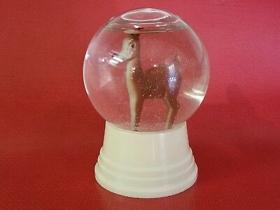 "1950's RUDOLPH The Red Nosed Reindeer ""In The Snow"" Snow Globe"