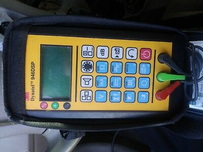 3M Dynatel 946DSP Subscriber Loop Cable test Tester with Leads Case 946 DSP