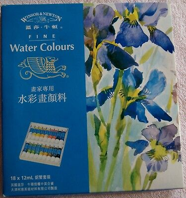 Windsor And Newton Water Colours