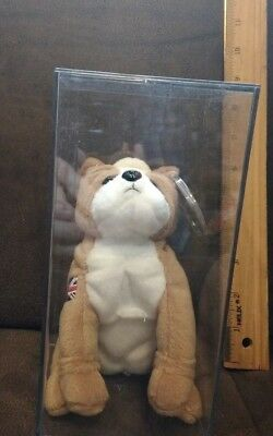 c599a57ec86 TY FEARLESS THE DOG BEANIE BABY - UK EXCLUSIVE - MINT with MINT TAGS ...