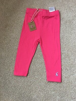 Brand New With Tags Bundle 3-6 Months Joules Gorgeous Girl Leggings Pink Blue