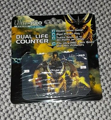 "Dual Life Counter ""Elmore Gold Dragon"" NEU MGT Magic Lebenspunktezähler für 2"
