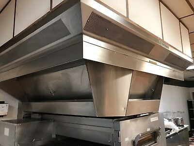 Vent Master Commercial Hood W/ Make-Up Air System
