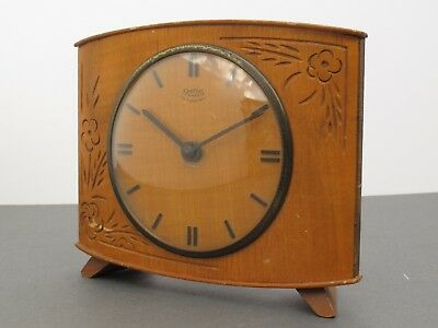 Smiths Vintage Wooden Mantle Clock - Spares / Repair