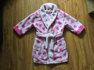Baby girl dressing gown 18-24 MotherCare