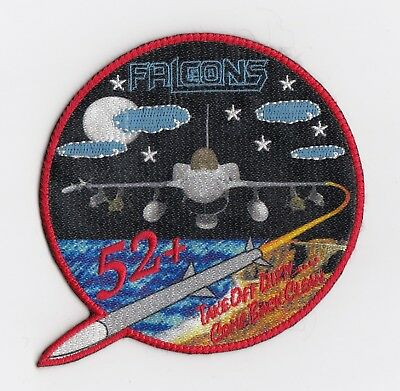 Pakistan Air Force  -  5 Squadron Op's patch  -  F-16 Fighting Falcon  Blk - 52