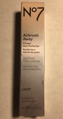 BOOTS NO7 AIRBRUSH Away Tinted Skin Perfector Light - 1.35oz NEW ...