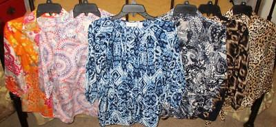 LOVELY Lot (6) Chico's Tops- Size 0/ Misses S-M