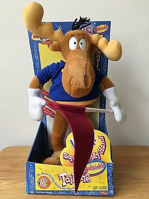 The Adventures of Rocky And  Bullwinkle~Talking Bullwinkle Vintage 2000