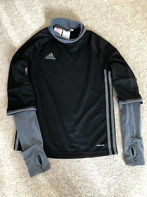 Boys Adidas Clima Cool Sports Top Age 9-10