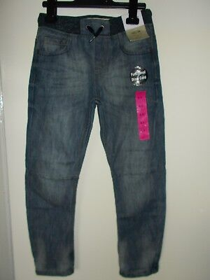 Boys jeans age 8-9 years, pull on style elasticated waist, NWT