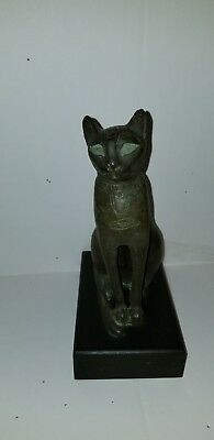 Votive statue of a cat sacred to the Goddess Bastet-Metropolitan Museum of Art
