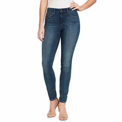NEW Jessica Simpson Womens' High-rise Skinny Jean Night Wash 10/30 NWT COMFY NWT
