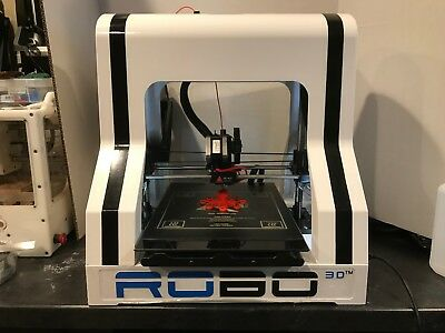 Robo 3D R1+ 3D Printer (Used) - 10x9x8 Unheated Bed - ABS/PLA