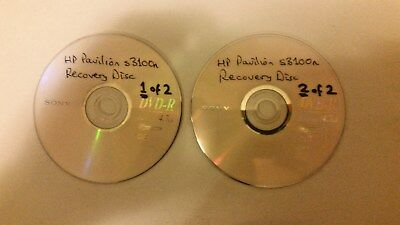 hp dv6000 recovery disk