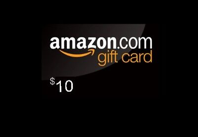 $10 Amazon gift card. Email delivery!
