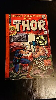 Journey into Mystery 114 Thor 1st Absorbing Man Marvel Comics Jack Kirby VG- 3.5