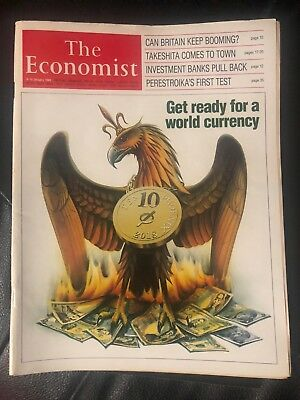 THE ECONOMIST JANUARY 1988 ''Get Ready For A World Currency''