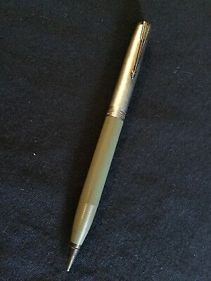 Vintage Parker Mechanical Pencil With Sterling Top