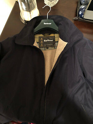 Barbour Men's Jacket Navy Large Never Used Mint Condition