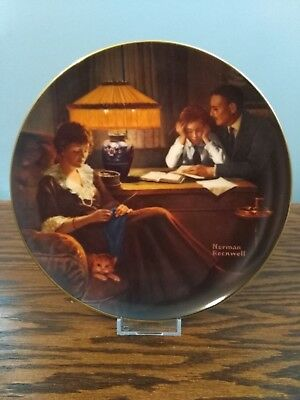 1983 'Father's Help' Knowles Collector Plate, No Reserve!