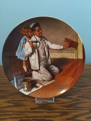 1983 'The Painter' Knowles Collector Plate, No Reserve!