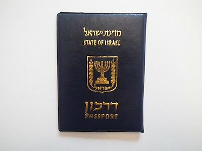 International Passport / ID Cover – Israel – Travel | Game | Card / Note Holder