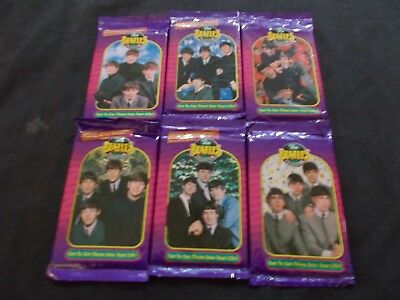 THE BEATLES Lot of 6 Trading Cards Packs SEALED 1993 The River Group