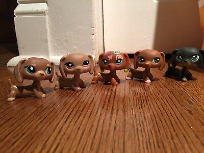 ✨Authentic✨ Littlest Pet Shop Lot Of 5 Dachsunds RARE