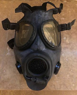 Us Army Military Issue Chemical Biological Gas Mask Field M17A2 With Carry Bag M