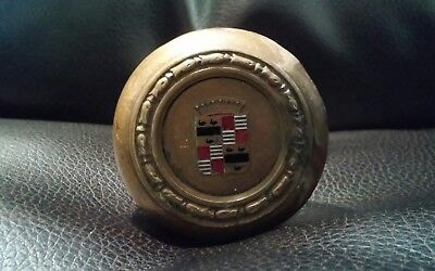 Antique CADILLAC Door Knobs with spindles old original architectural salvage