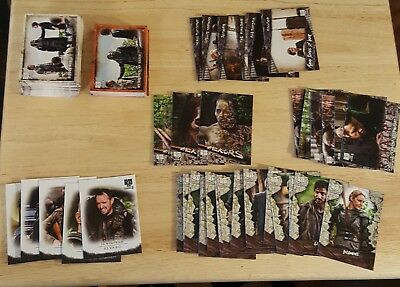 2018 Walking Dead Season 8 Part 1 Complete Base Set + inserts