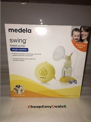 Medela Swing Breast Pump Single Electric - Brand New Sealed - Free Shipping!