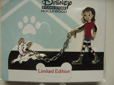 DISNEY PIN LE 300 DSF DSSH - Walk in the Park Series - Bolt and Penny