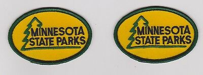 2 Minnesota State Parks State Park Ranger Police Patches