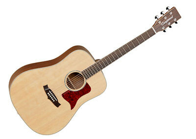 Tanglewood Dreadnought Acoustic Guitar - Natural Satin/Techwood - X15NS