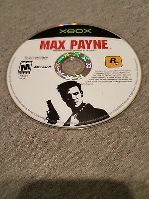 Rockstar Max Payne (XBOX) - M for Mature DISC ONLY