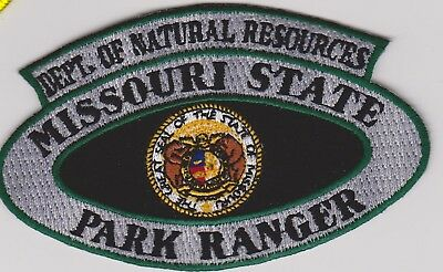Missouri DNR Natural Resources State Park Ranger Police Patch
