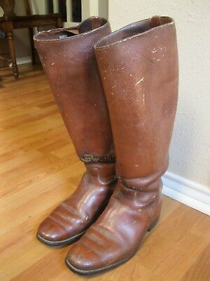Vintage cavalry or riding boots